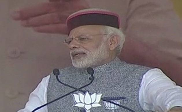 PM Modi in HP: We are busy taking action against corrupt people (Image: ANI)