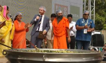 World Food India event: India enters Guinness World Record for making 'largest serving of rice and beans' after preparing 918 kg of Khichdi