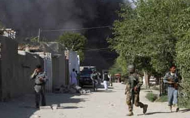 Live   Afghanistan: Shamshad TV attacked in Kabul