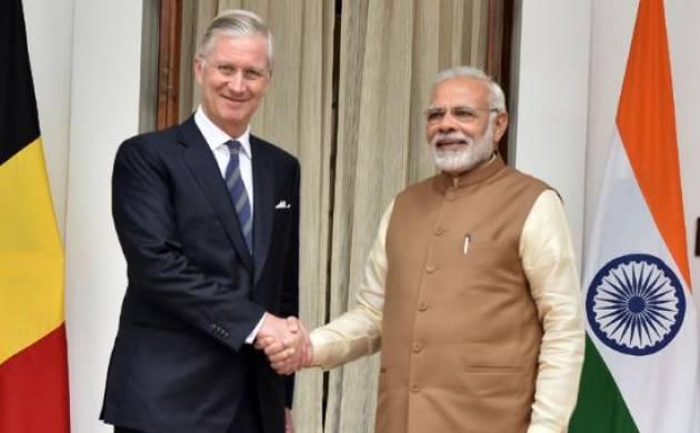 PM Modi, Belgian King Philippe hold talks on strengthening ties