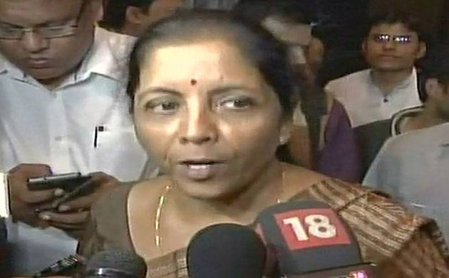 Sitharaman says fund flow to terrorists was choked after noteban (Image: ANI)