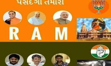 Gujarat elections 2017: Poster showing 'RAM vs HAJ' circulated on social media