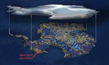 Geothermal heat source under Antarctica melting its ice sheet, says NASA study
