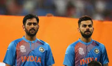 Virat Kohli hits out at former Indian cricketers for questioning Dhoni's finishing skills with willow