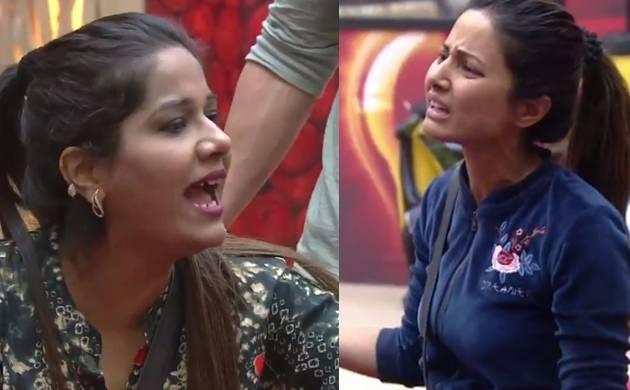 Bigg Boss 11: Hina Khan and Mehjabi Siddhiqui get into a fight