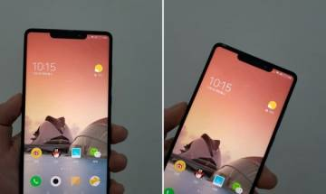 Xiaomi Mi MIX 2s images leaked, might feature an iPhone X like notch
