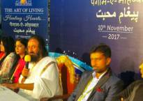 Sri Sri Ravi Shankar aims to bring normalcy in Kashmir through Paigam-e-Mohabbat