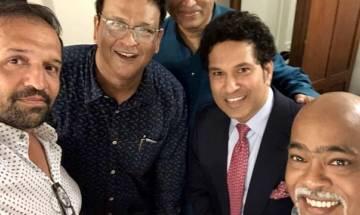 Sachin Tendulkar posts selfie with Vinod Kambli, calls him 'Friend for Life'