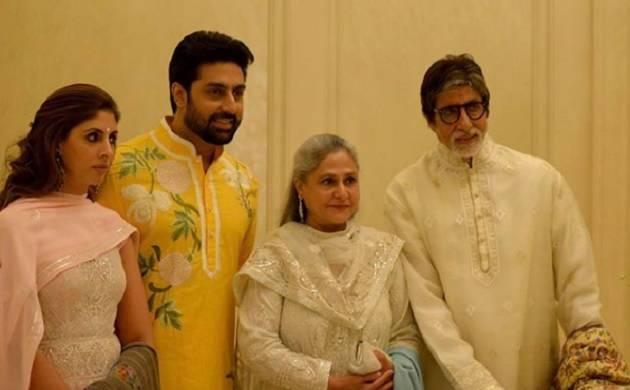Amitabh Bachchan shares adorable pictures of Jaya Bachchan, Shweta and Abhishek (Source: Instagram)