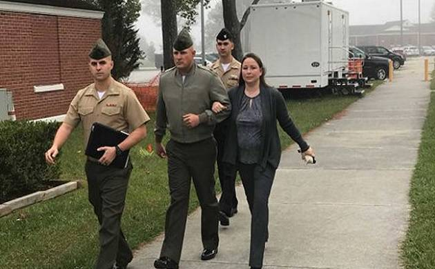 US Marine gets 10 years jail term for abusing Muslim recruits (Image tweeted by @rorylaverty)
