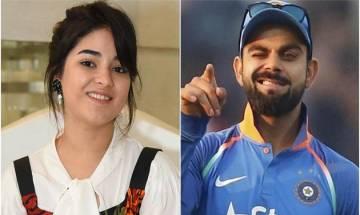 I am in awe of Virat Kohli, says Secret Superstar Zaira Wasim