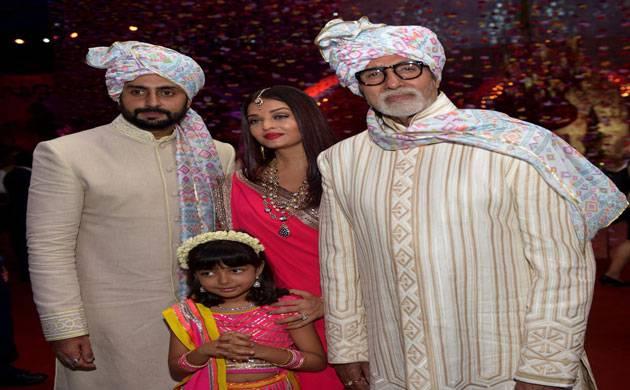 Amitabh Bachchan, Abhishek, Aishwarya & Aaradhya look ravishing