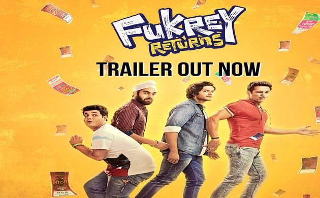 Fukrey Returns trailer is out (Picture credits- Twitter)