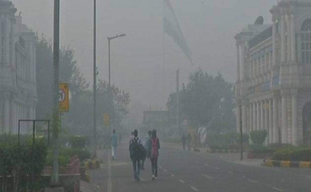 Visuals from Delhi's Connaught Place (ANI)
