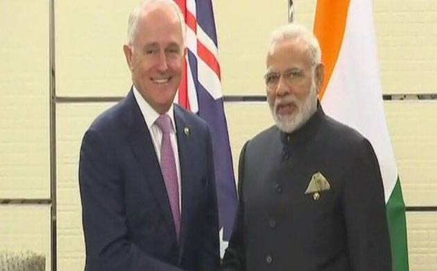 ASEAN Summit: PM Modi meets Australian PM Malcolm Turnbull (Image: ANI)