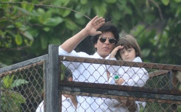 SRK's son AbRam gives a special gift to siblings Aryan, Suhana on Children's Day (watch video)
