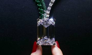 Largest diamond ever auctioned for nearly USD 34 million in Geneva