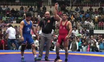 Sushil Kumar wins Gold in National Wrestling Championships after opponents 'no show'; Sakshi Malik, Geeta Phogat too bag Gold