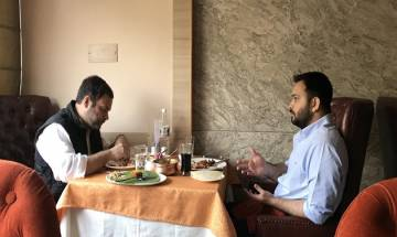 Rahul Gandhi's 'lunch date' with Lalu Yadav's son Tejashwi creates political flutter
