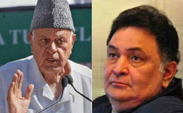 Complaint against Farooq Abdullah, Rishi Kapoor over PoK remark