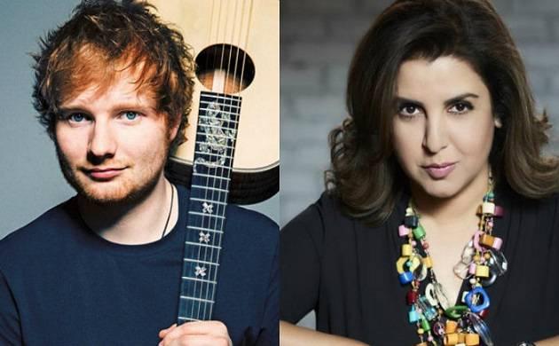 Ed Sheeran joins Farah Khan's welcome party ahead of his Divide concert in Mumbai, shakes a leg with Badri Ki Dulhania