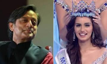 Shashi Tharoor slammed over his tweet on Miss World Manushi Chhillar