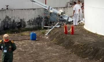 Indian Navy's UAV crashes during take off at Kochi ahead of Venkaiah Naidu's visit