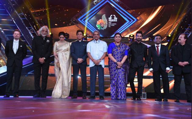 IFFI 2017 opening ceremony turns out to be starry affair (picture credits- Twitter)