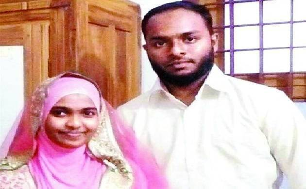 Hadiya with her husband Shafin Jahan