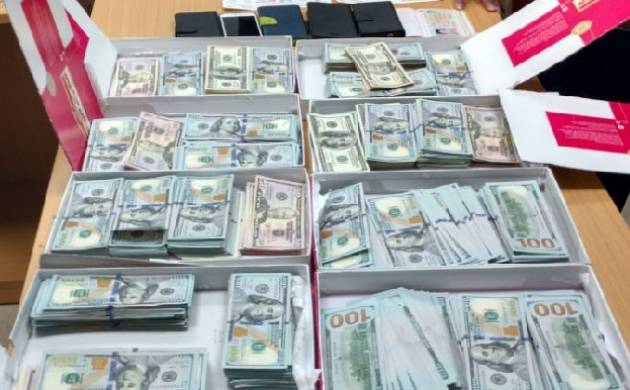 DRI arrests Chinese woman from IGI airport, recovers currency worth Rs 2 crore. (Source: DRI)