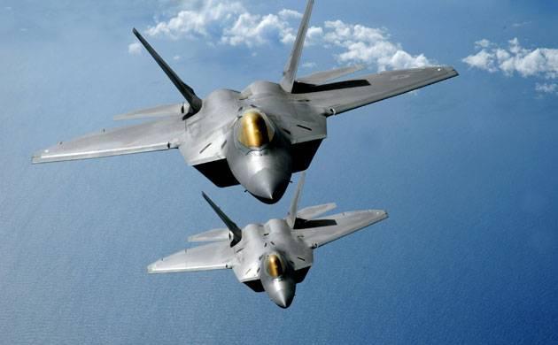 F-22 fighter jets (File photo)