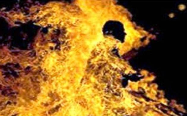 Delhi: 19-year-old youth set ablaze for objecting to men taunting his female friend (Representational Image)