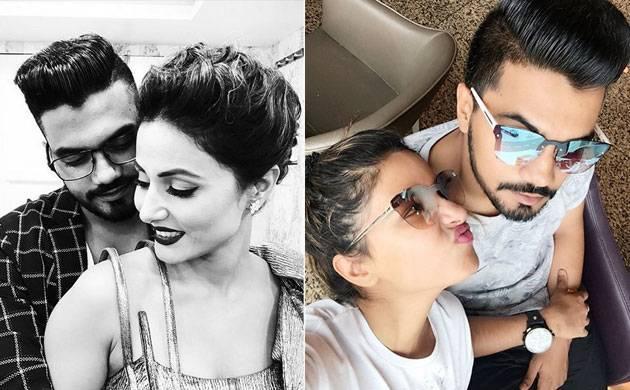 Hina Khan's boyfriend Rocky Jaiswal takes a JIBE at Karan Patel