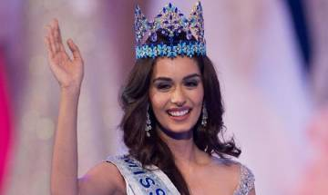 Miss World Manushi Chillar returns to India, inundated with heartfelt greetings at Mumbai airport (watch video)