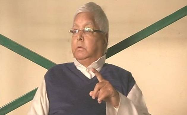 Lalu Yadav backs son on 'scalping PM Modi' comment; BJP leader says he is mentally unstable (File Photo)