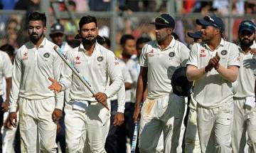 India thump Sri Lanka by innings and 239 runs in Nagpur Test, go 1-0 up in series