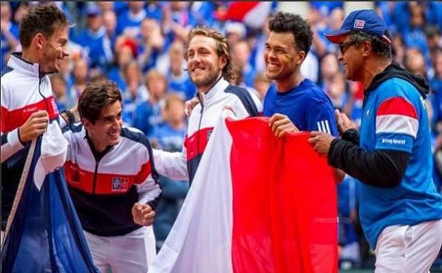 France won 10th Davis Cup title