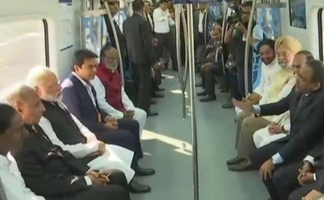 PM Modi to flag-off Hyderabad Metro Rail today  (Photo-PIB)