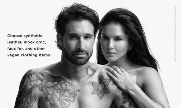 WATCH: Sunny Leone and Daniel Weber pose nude for PETA campaign