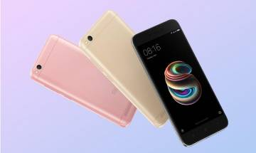Redmi 5A: Xiaomi launches 13-megapixel budget smartphone at Rs 4999 with Jio's enticing cashback offer