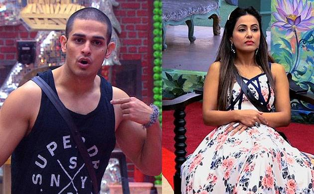 Bigg Boss 11: Priyank Sharma makes a SHOCKING comment against his best friend Hina Khan