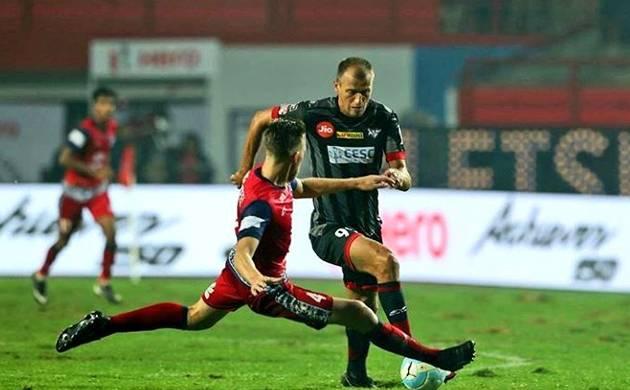 Jamshedpur FC (Image credit - Jamshedpur FC twitter handle)