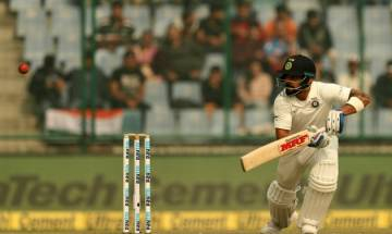 India vs Sri Lanka:  India ends days play at 371/4