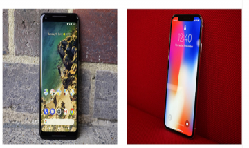 Apple iPhone X vs Google Pixel 2 XL; check out price and specs