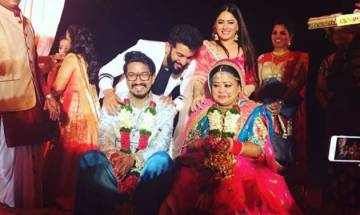 Congratulations! Bharti Singh- Haarsh Limbachiyaa tie the knot in Goa; check out their marriage pictures