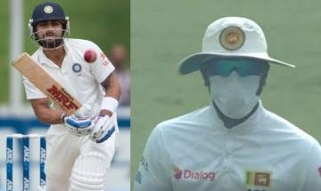 Indian team takes a dig at Sri Lankan players, says Virat Kohli did not require pollution mask to bat for nearly two days