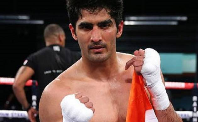Vijender Singh - WBO Asia Pacific and Oriental super middleweight champion