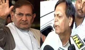 Rebel JD(U) MPs Sharad Yadav, Ali Anwar disqualified as Rajya Sabha members