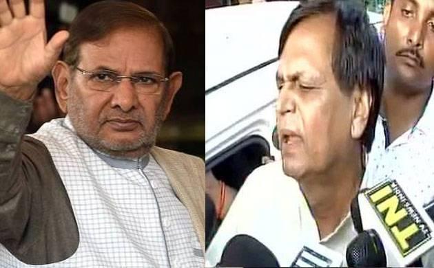 Rebel JD(U) MPs Sharad Yadav, Ali Anwar disqualified as Rajya Sabha members (File-Photo)