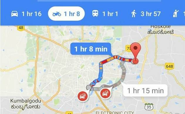 Google Maps Introduces Two Wheeler Mode As An India First Feature